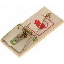 Крысоловка деревянная Mr Mouse 1шт 17.5*8см, арт.М-069