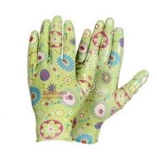 Перчатки нейлоновые с силиконовым обливом Садовые Люкс