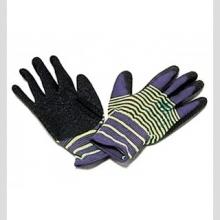 Перчатки нейлоновые с вспененным латексом Зебра Люкс