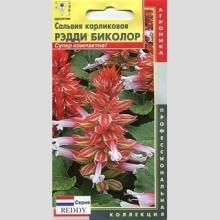 Сальвия  Рэдди Биколор карликовая 10шт/уп